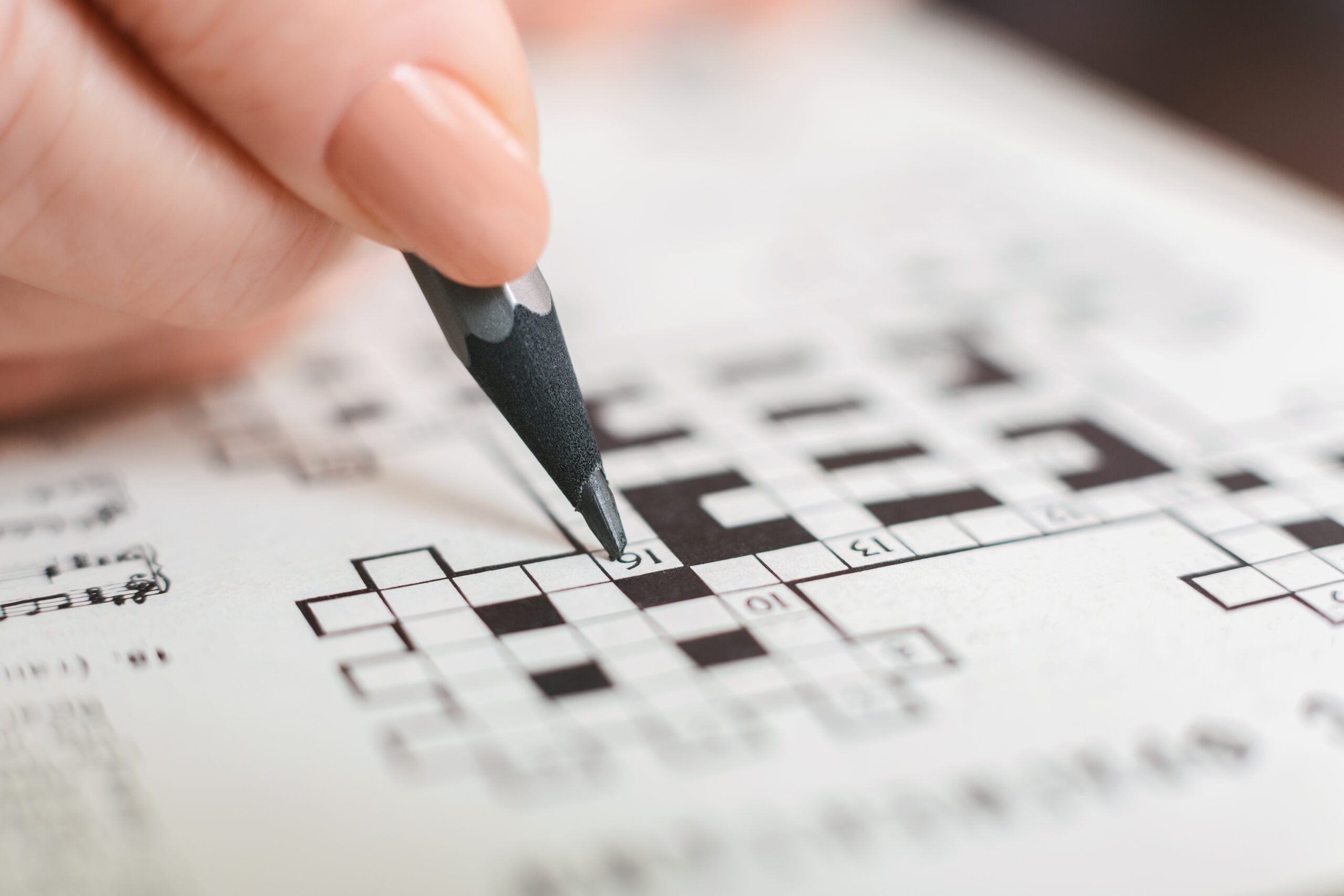 To crossword in a time of crisis